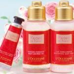 朝咲きローズが香るロクシタンの贅沢ボディケアが数量限定で販売中!