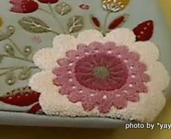 ミニラボ サガラ刺繍のエンブロトートバッグ